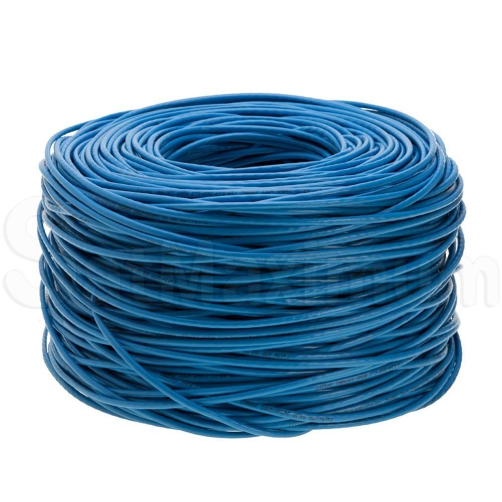 1000ft CAT5e Ethernet UTP FTP Cable Network 24AWG RJ45 Solid Cat 5 ...