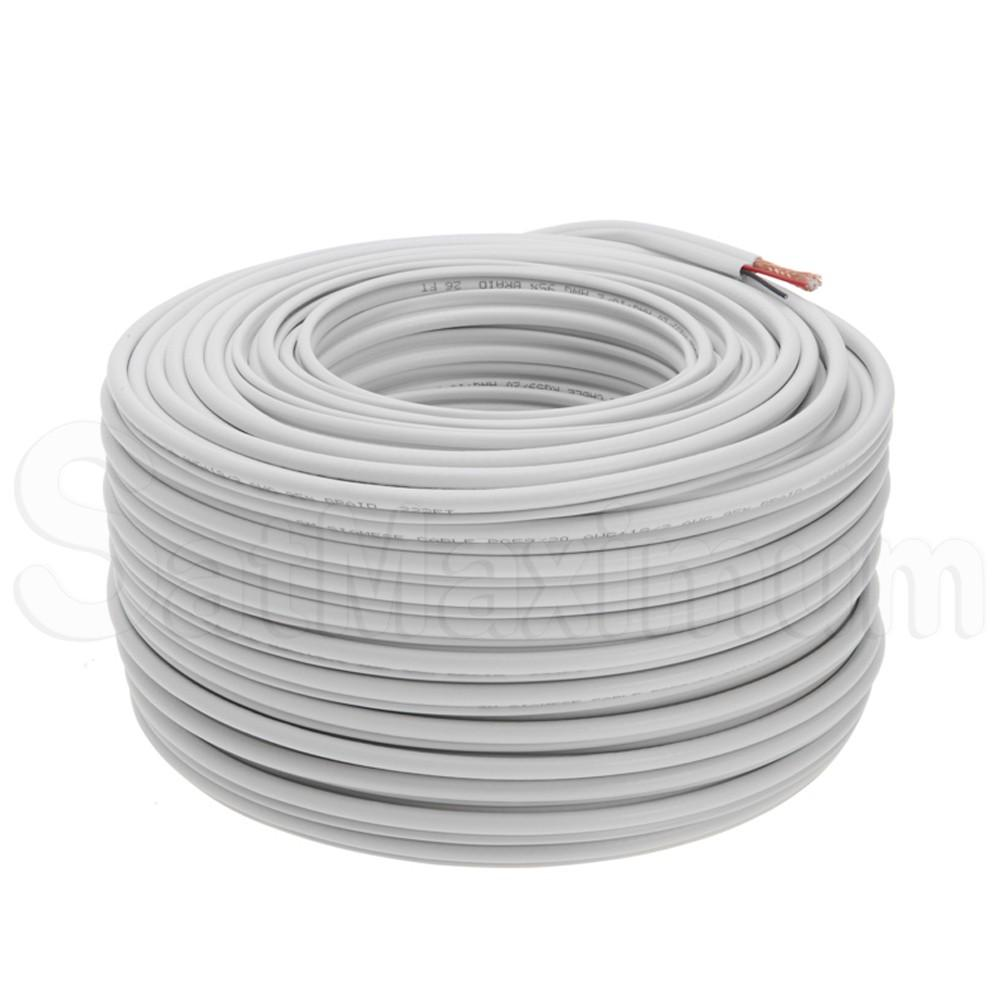 Siamese Rg59 Cable 250ft 500ft 1000ft Bulk 20awg 18 2